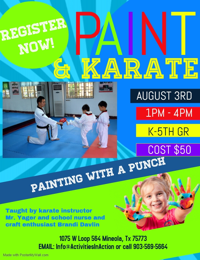paint and karate