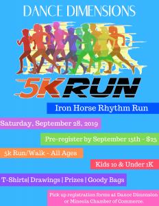 Iron Horse Rhythm Run Flyer copy